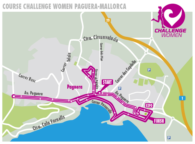 Course Challenge Women Paguera-Mallorca