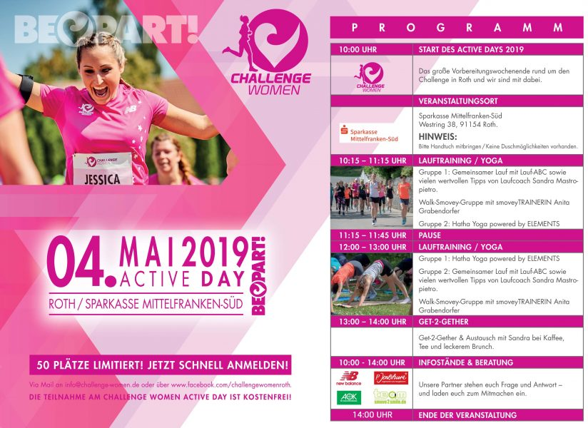 Challenge Women Active Day - Programm Grafik 2019.indd