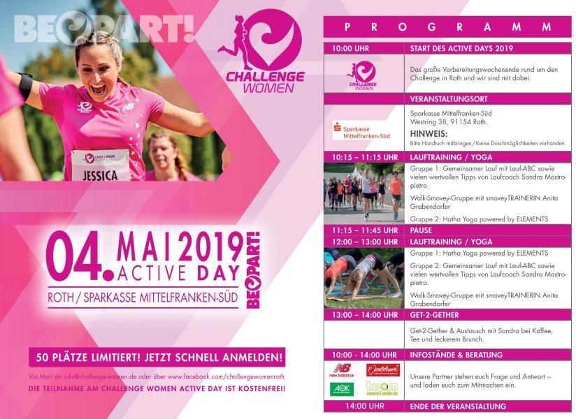 Challenge Women Active Day - Programm Grafik 2019.indd