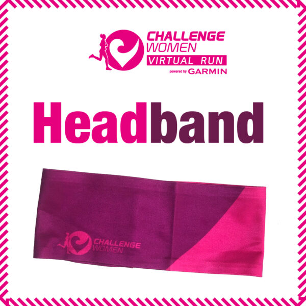 Headband, Challenge Women, Das Stirnband für Frauen
